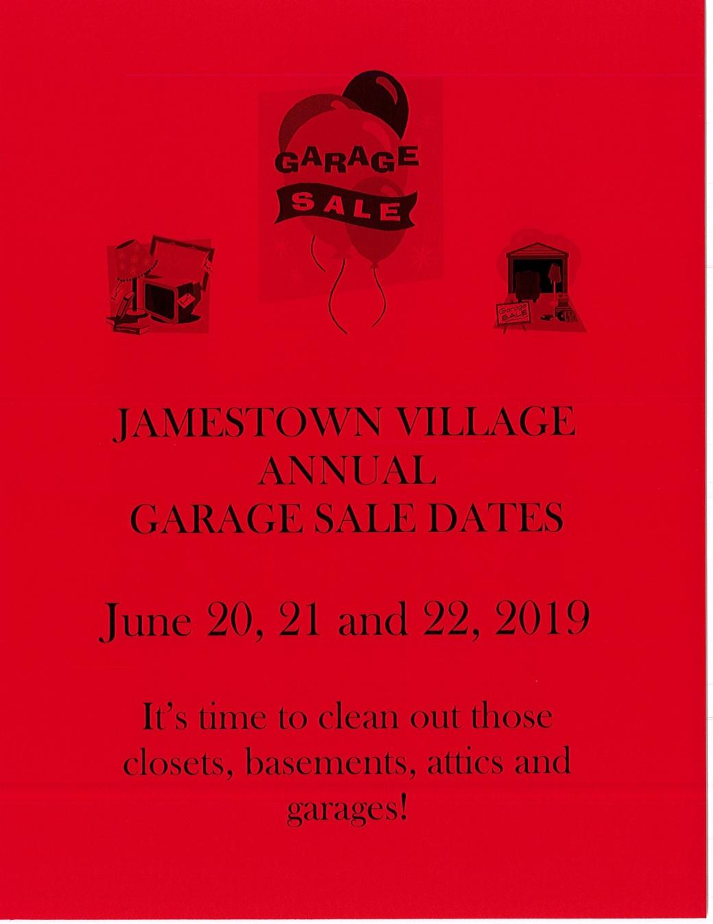 Yard Sale Flyer 2019